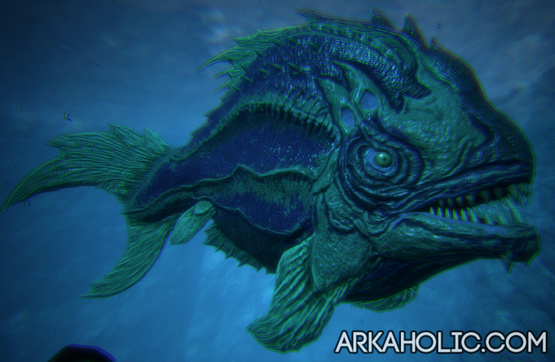 how to get icthyomis to fish ark