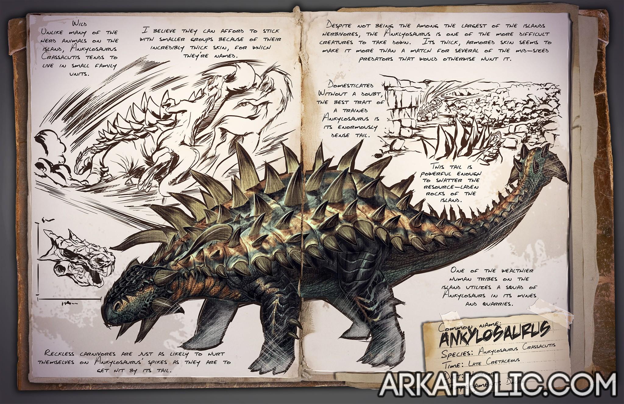 ankylosaurusdinodossier