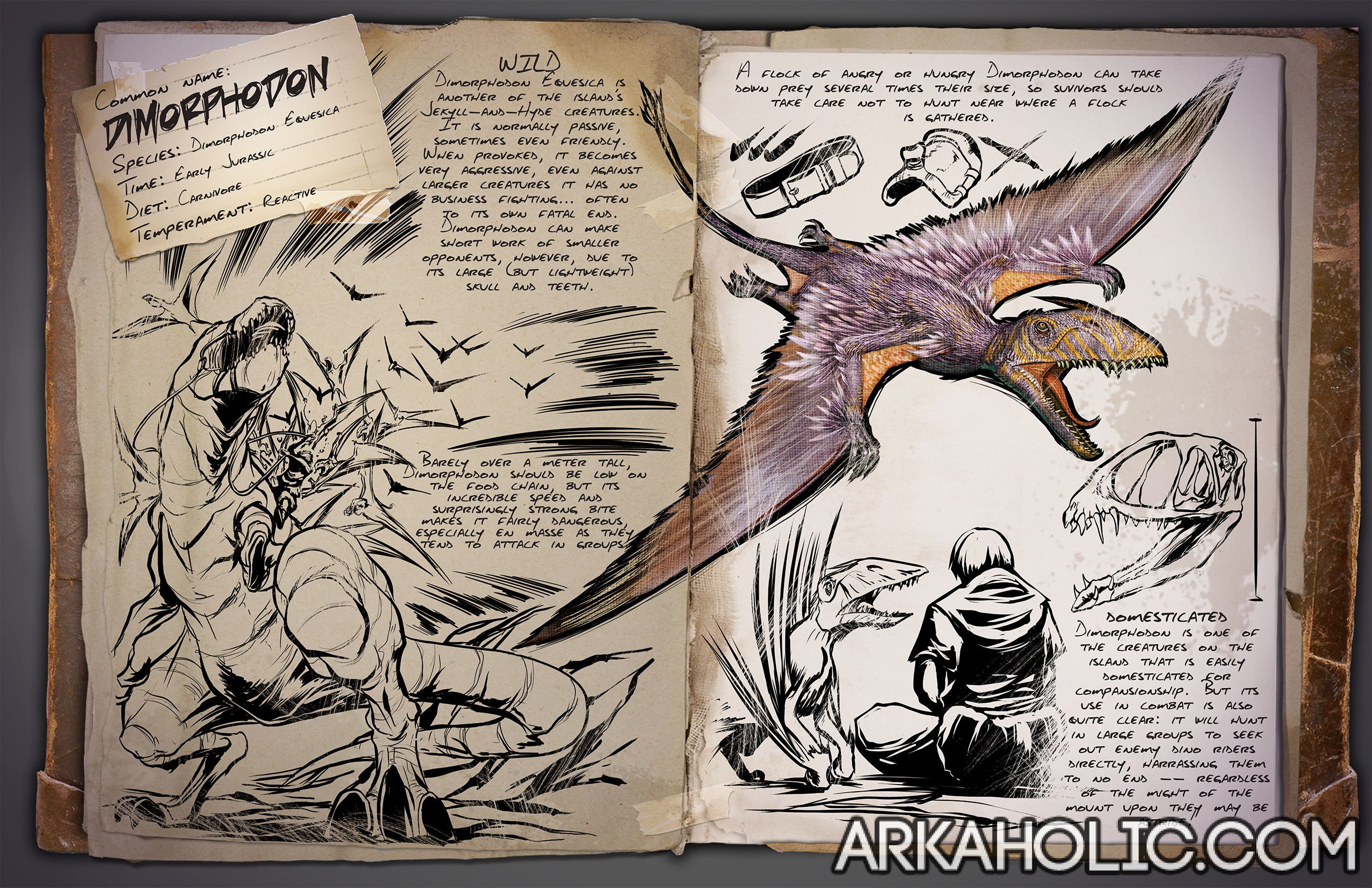 How to give dinosaur to another player in ark
