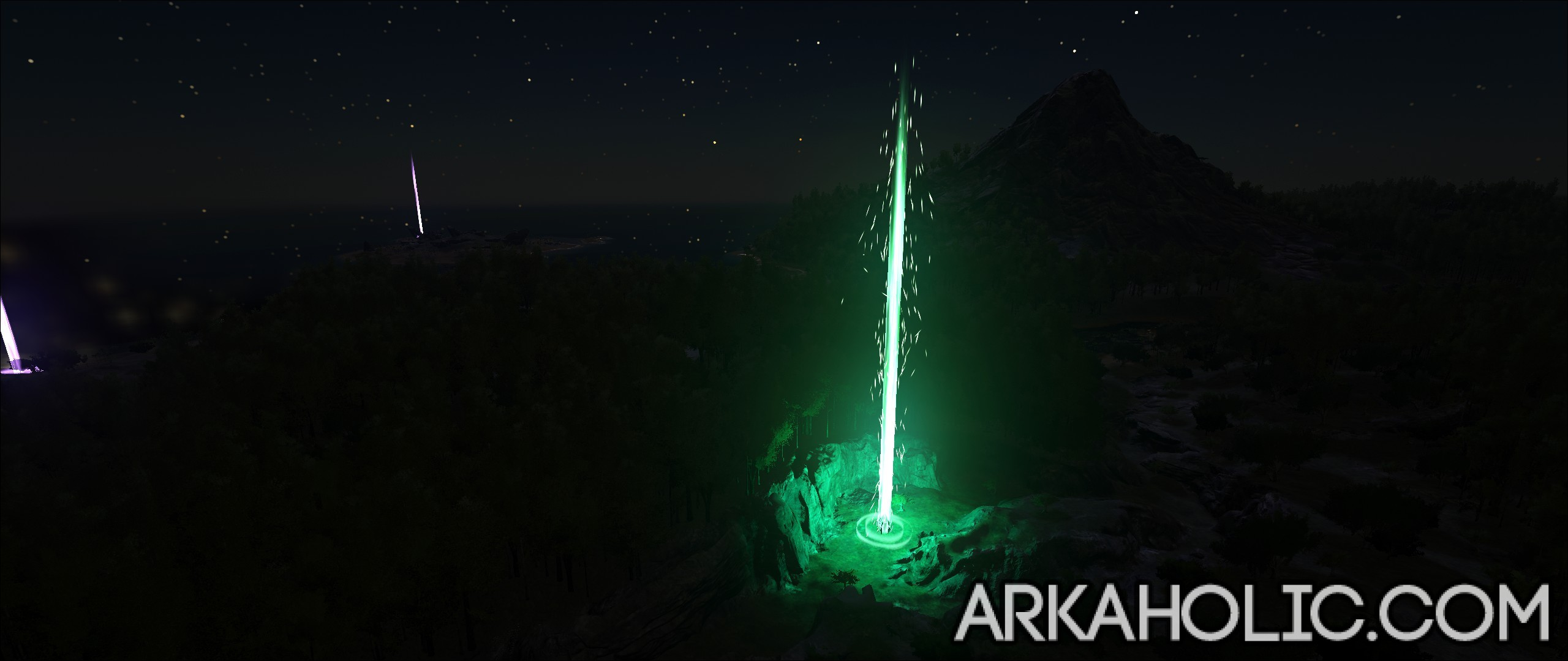 Ark survival evolved beacons guide green beacon malvernweather Choice Image