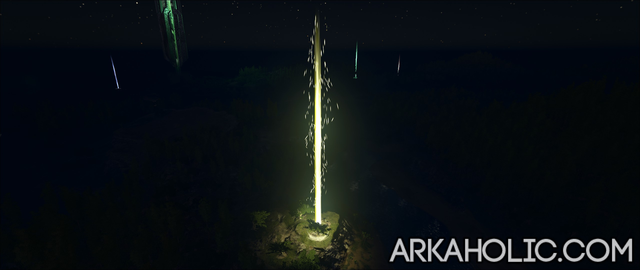 Ark survival evolved beacons guide yellow beacon malvernweather Gallery