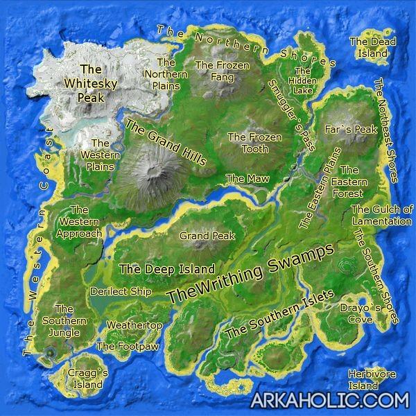Ark Position Auf Karte