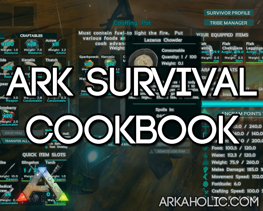Ark survival evolved cooking recipes how to make food forumfinder Gallery