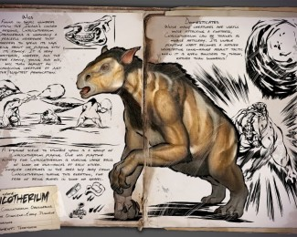 Chalicotherium dossier