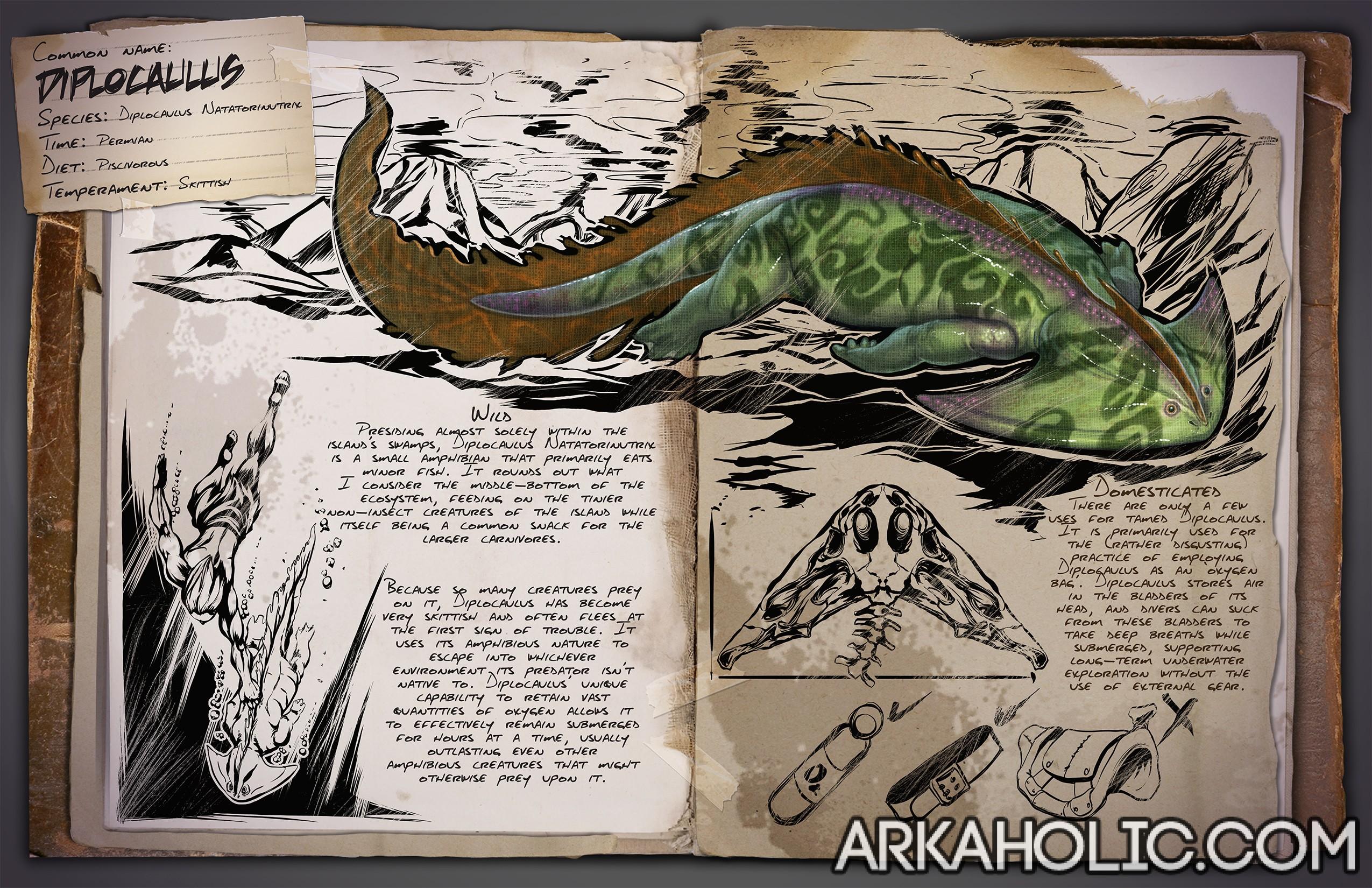 Diplocaulus Dossier & Tips Guide - ARK Survival Evolved
