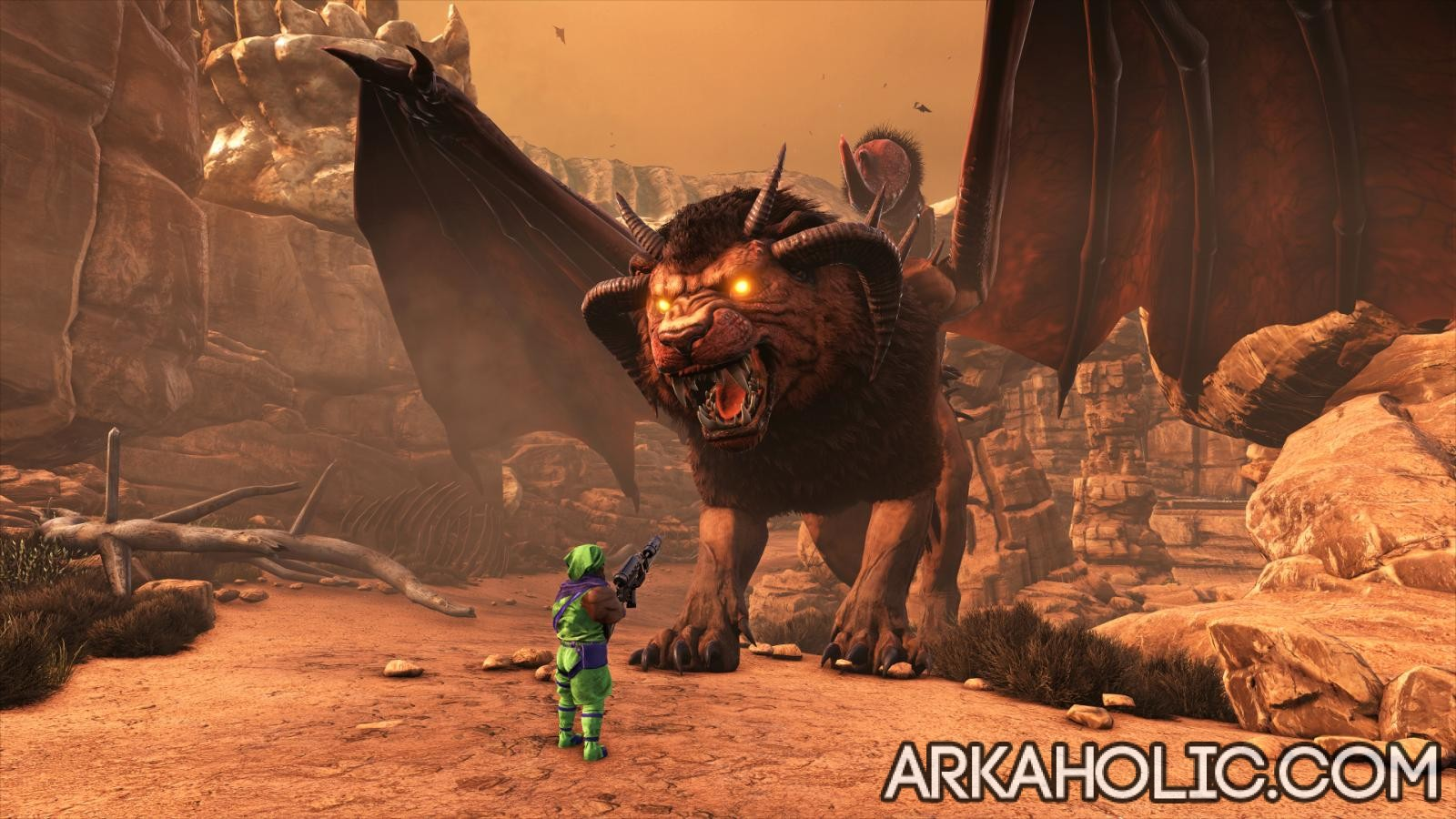 Manticore Tips & Guide - How to Defeat the Manticore in Ark