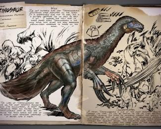 Therizinosaurus dossier