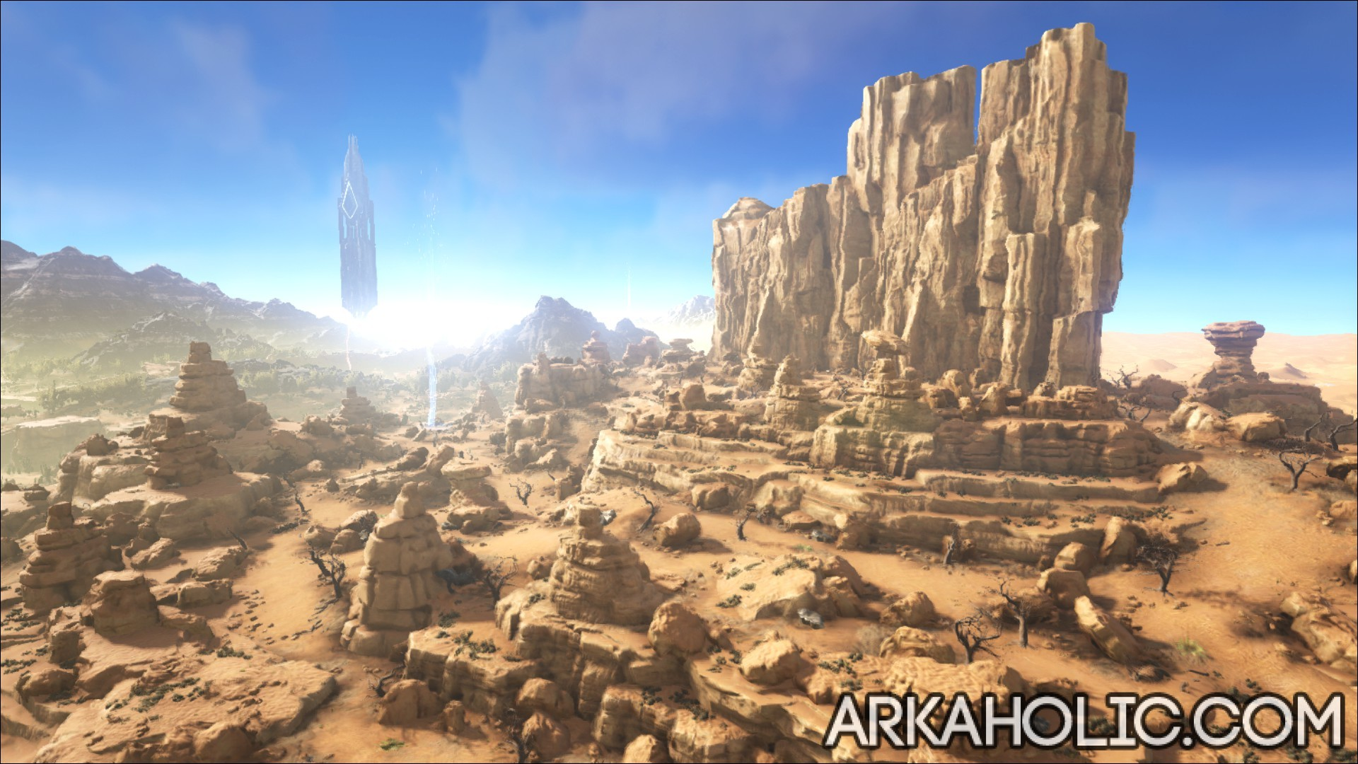 Scorched Earth Map Guide Ark Survival Evolved