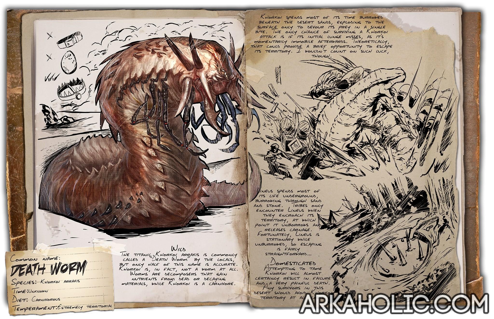 Death Worm Battle Tips Guide Ark Survival Evolved Survival evolved on channel demostorm. arkaholic