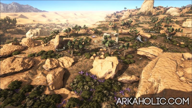 Ark Karte Scorched Earth.Scorched Earth Map Guide Ark Survival Evolved