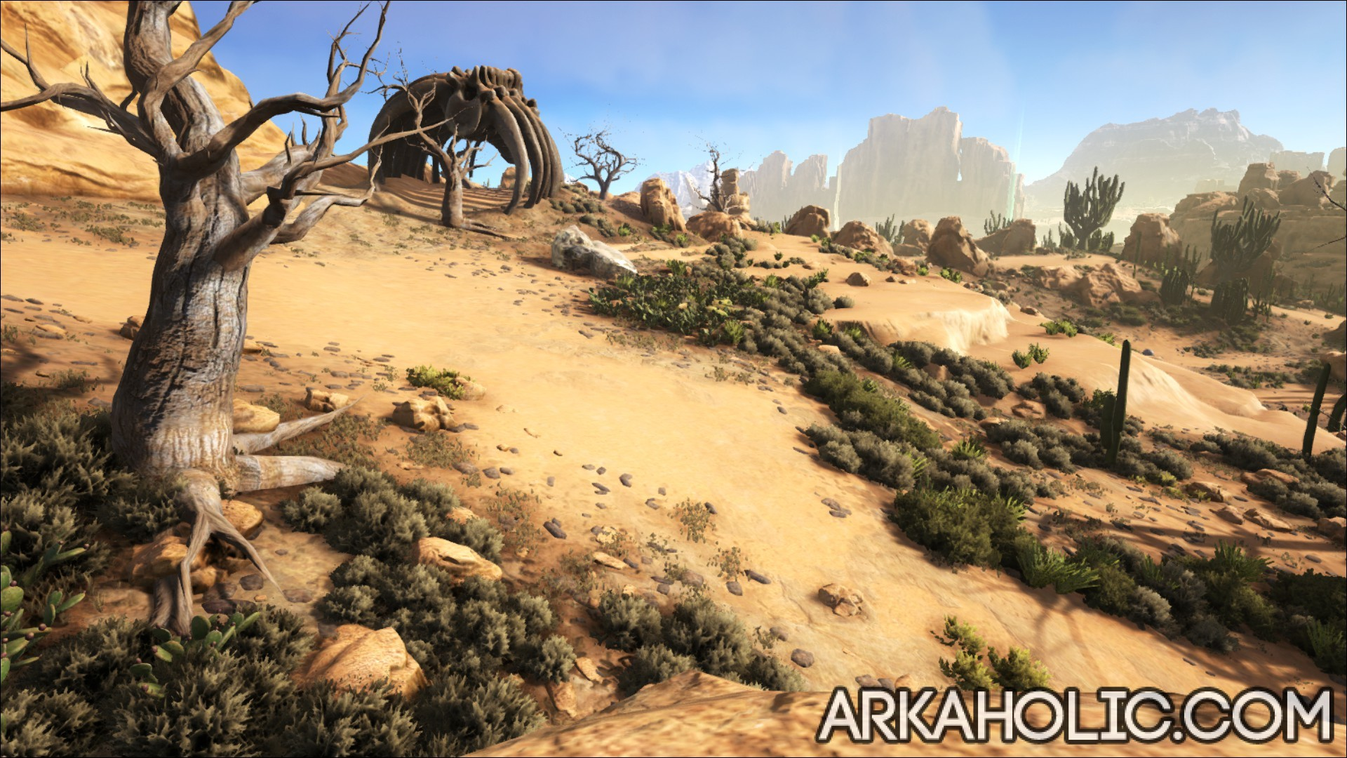 Scorched Earth Map & Guide - ARK Survival Evolved