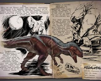 megalosaurus dossier