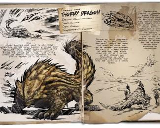 thorny dragon dossier