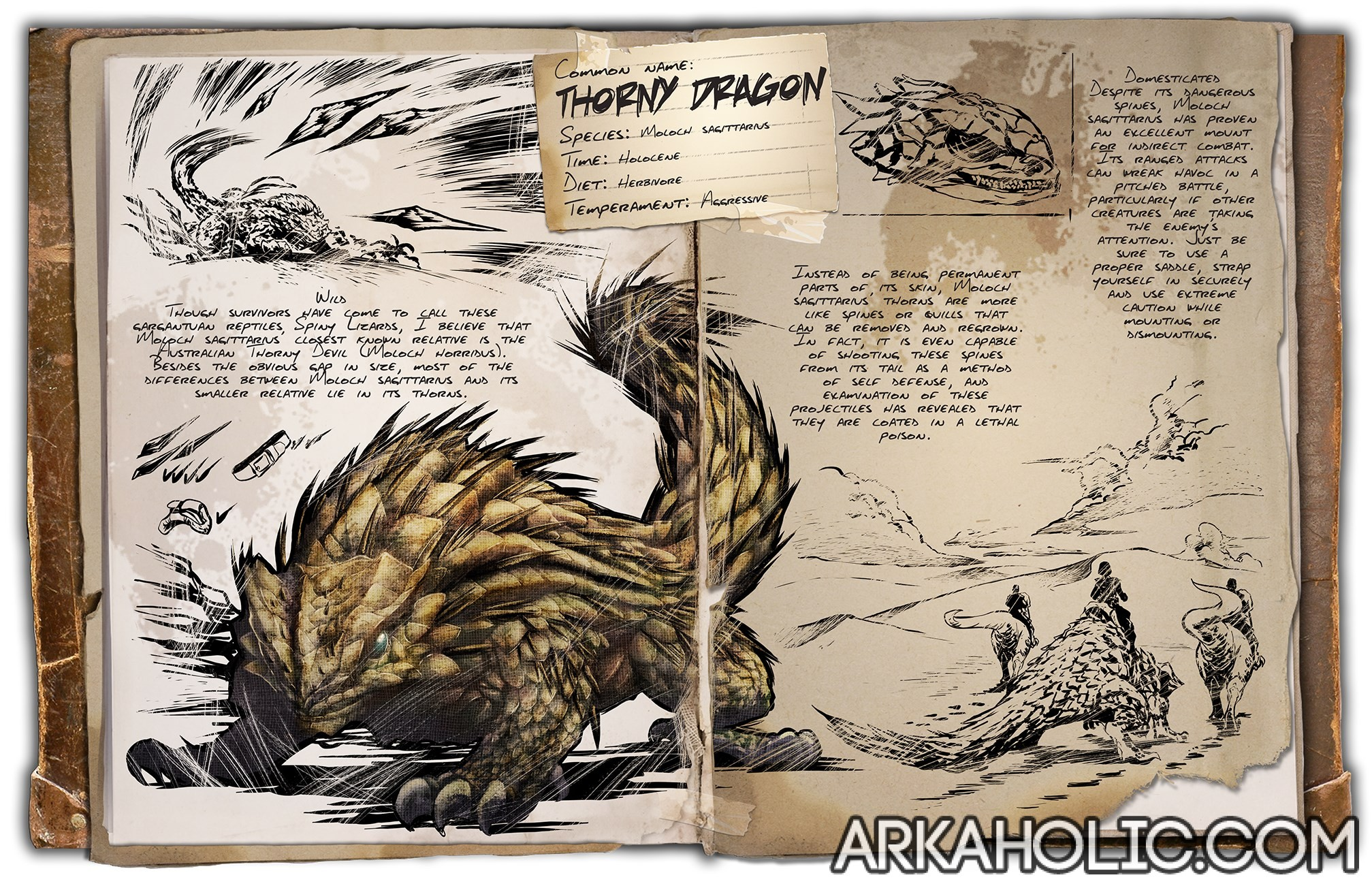 Thorny Dragon Taming Tips & Guide - Ark Survival Evolved
