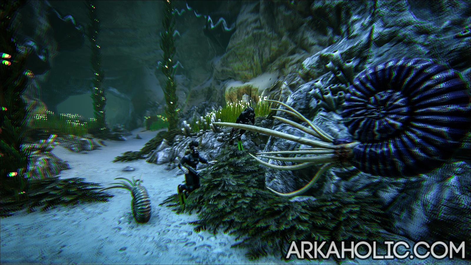 Ammonite Dossier Tips Guide Ark Survival Evolved They aren't as abundant as volcanic, but there's still plenty. arkaholic