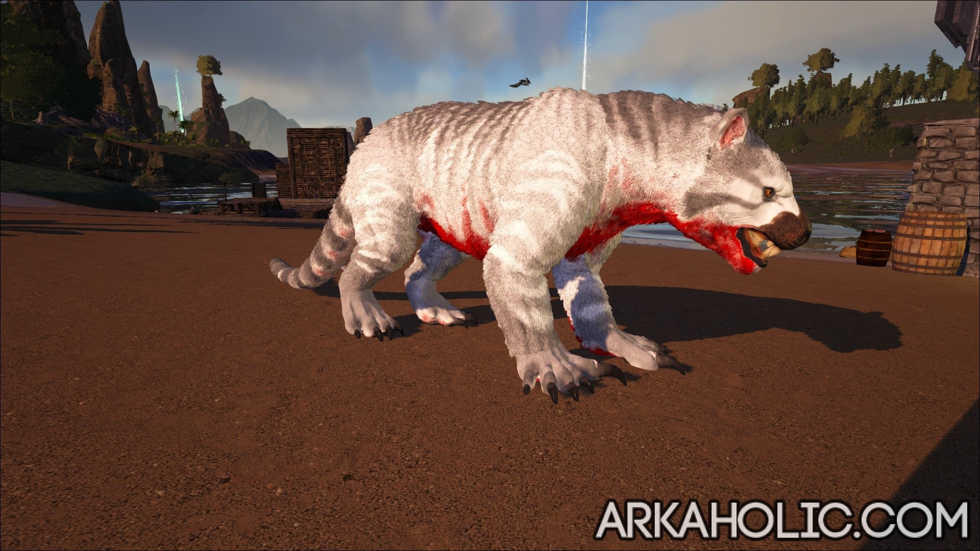 Thylacoleo Tips & Taming Guide - How to Tame a Thylacoleo