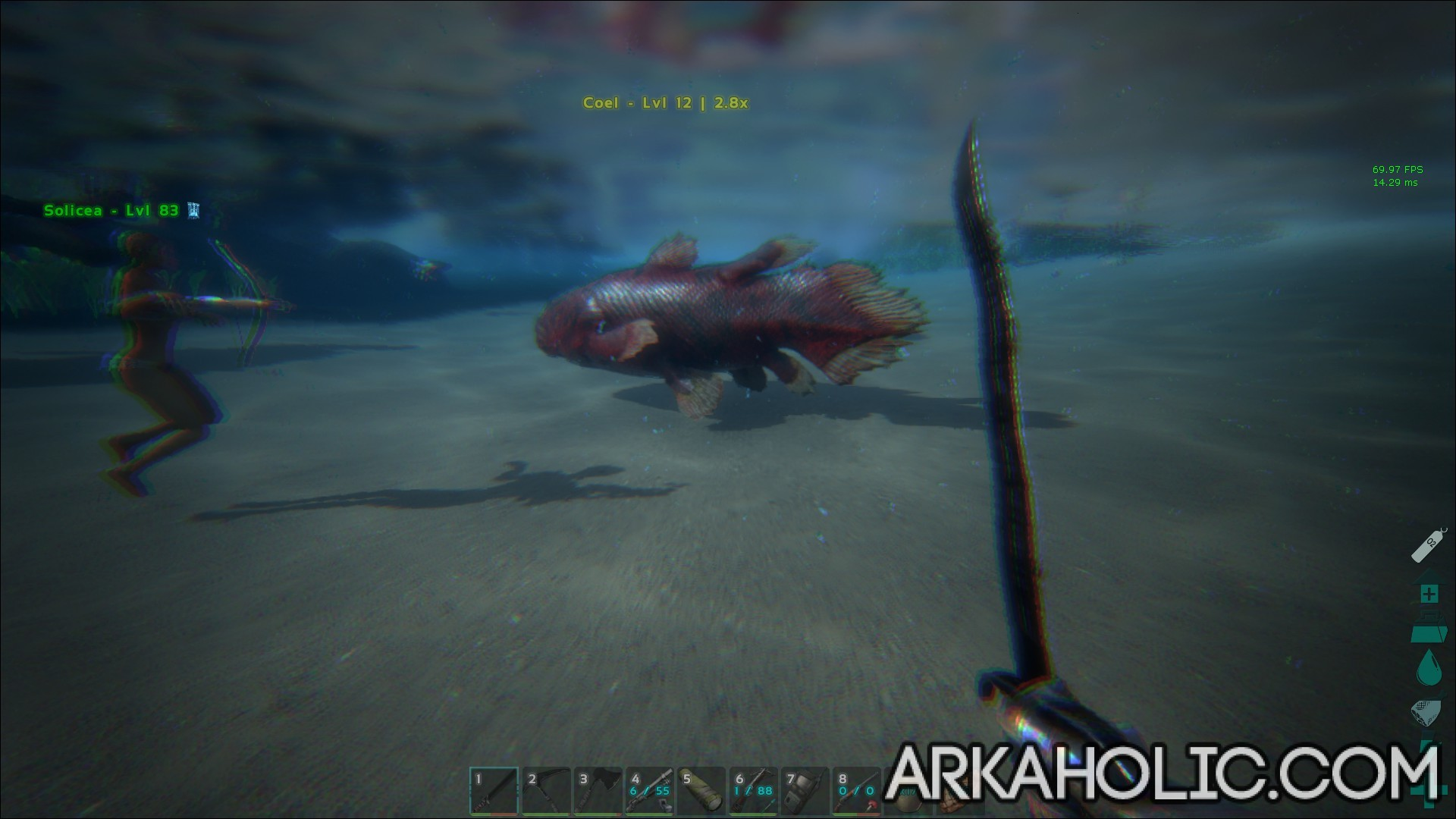 Ark fishing guide how to catch fish in ark survival for Fishing xbox one